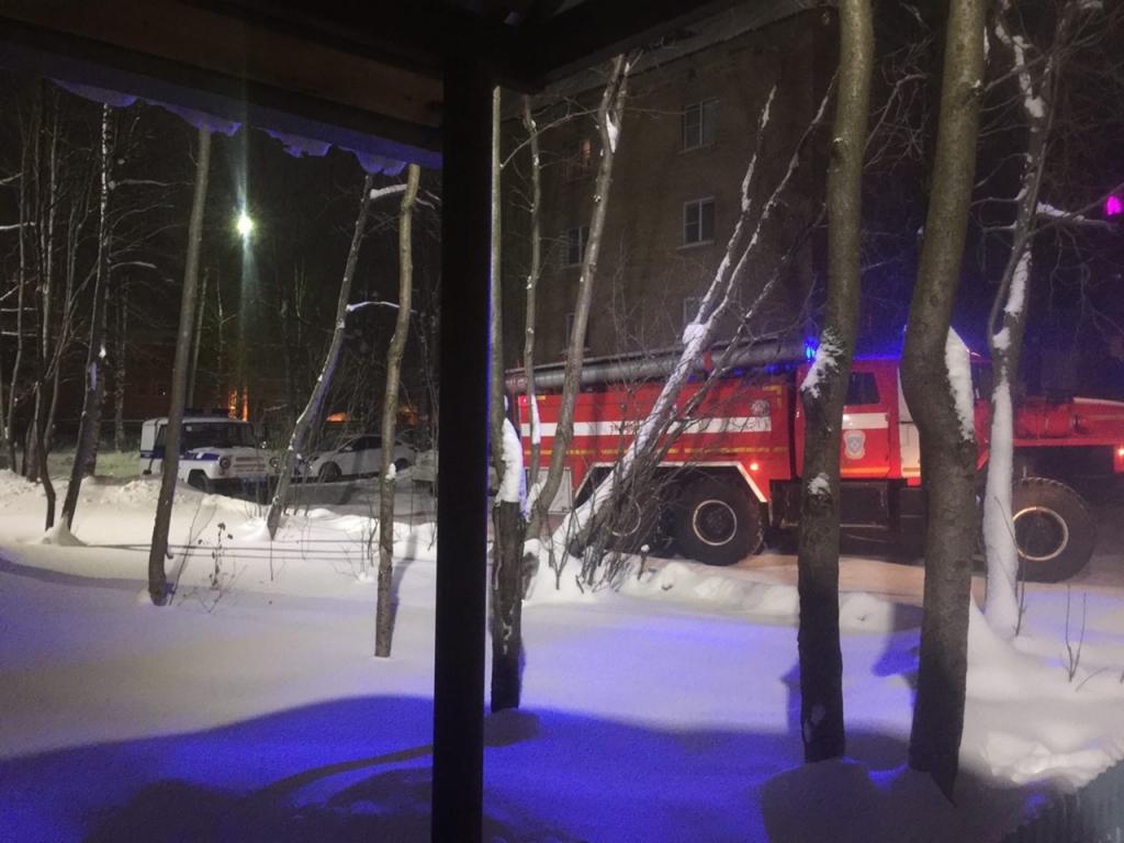 В пожарную службу поступило сообщение о возгорании автомобиля по улице Совхохзная, фото-1