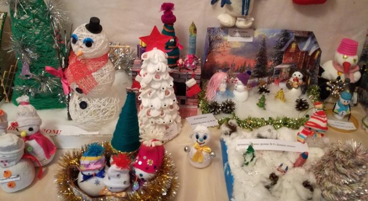 Конкурс новогодних поделок прошел в Ухте декабрь 2017 | Новости Ухты - Про  Город Ухта