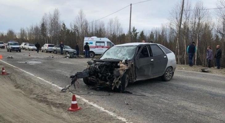 В Усинске в ДТП погиб мужчина
