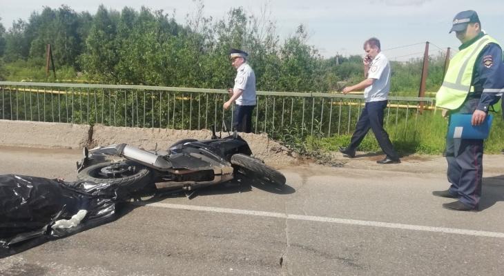 ГИБДД прокомментировали смертельное ДТП с байкером в Ухте