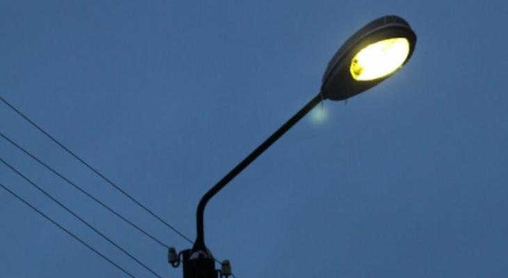 В Сосногорске изменился график уличного освещения