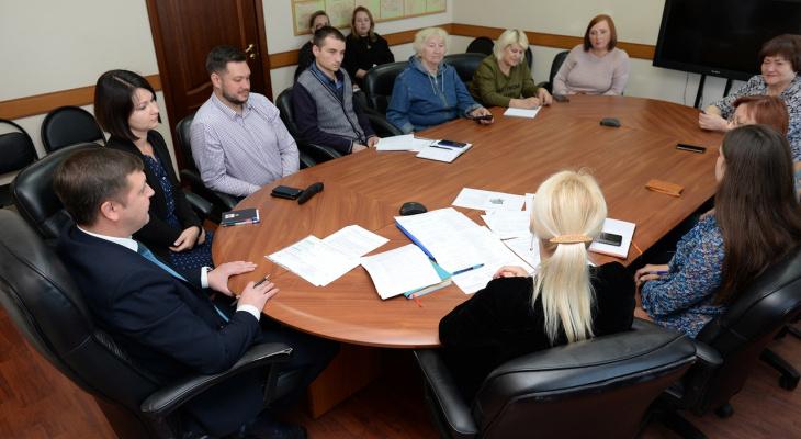 В Сосногорске обсудили ход работ по реконструкции двух скверов