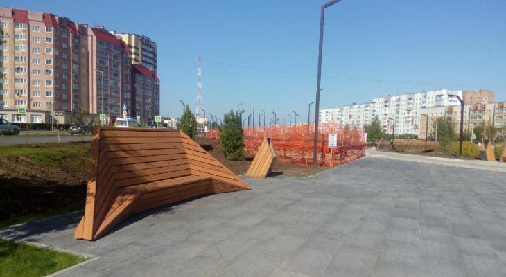 В Ухте на Набережной умер пожилой мужчина