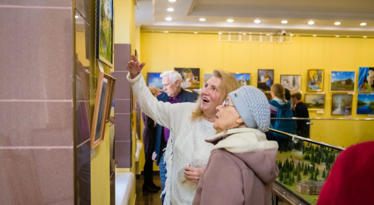 Где в Ухте можно посетить выставку интересной живописи