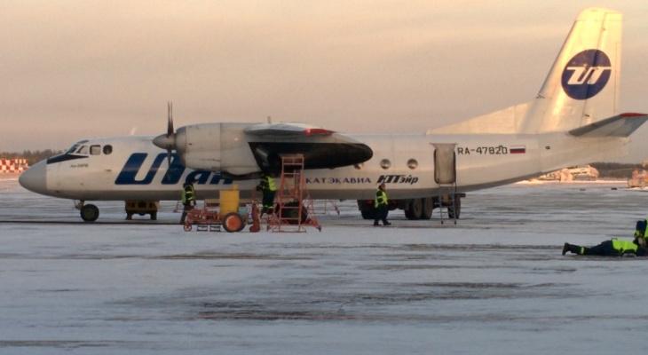 Самолет, который аварийно сел в Ухте, вновь в центре внимания