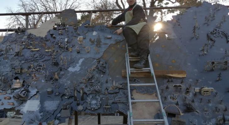 Сосногорский глухарь появился на арт-объекте в Крыму