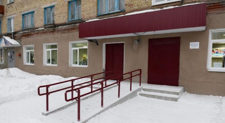 В Сосногорске показали ремонт в библиотеке за семь миллионов рублей