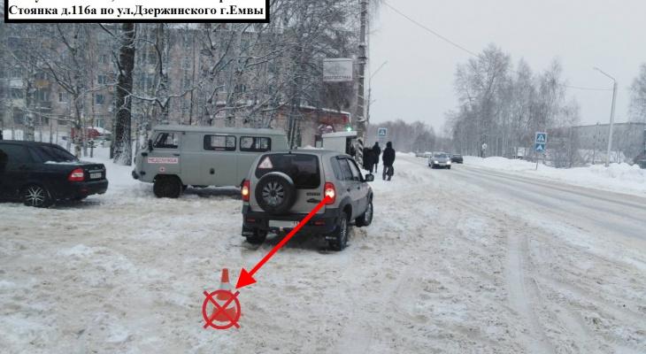 В Коми пьяный пенсионер на авто сбил пожилую женщину