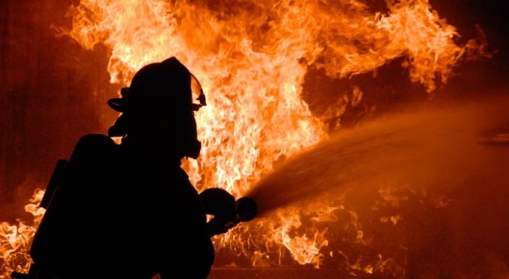 В Коми горели два жилых здания