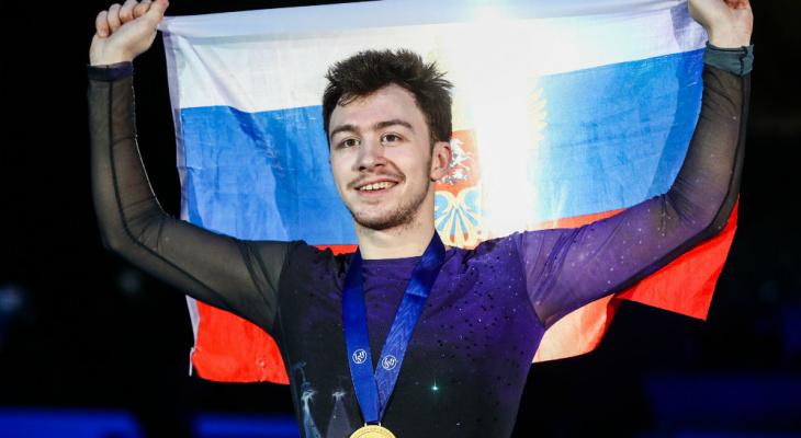 Ухтинец Дмитрий Алиев стал чемпионом Европы по фигурному катанию