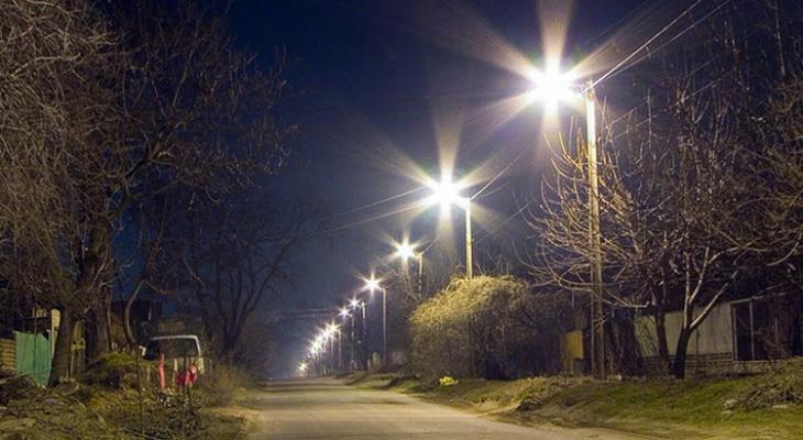 В железнодорожной части Сосногорска появится уличное освещение