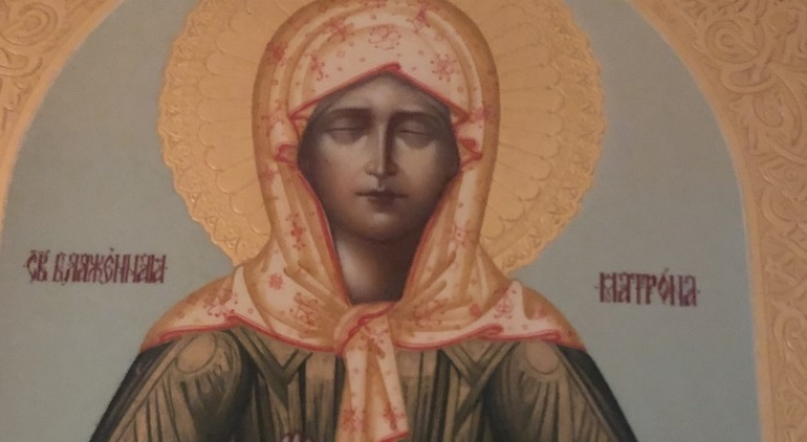Мощи Святой Матроны из Ухты привезут в Пермь