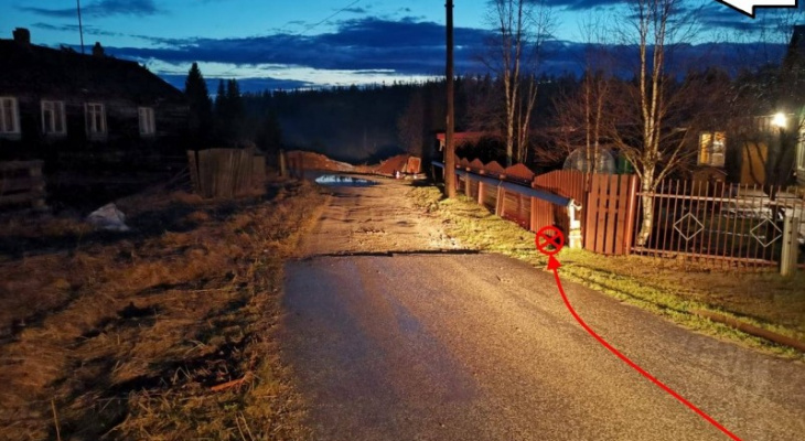 В Сосногорске пьяный водитель врезался в забор и покалечил 7-летнего ребенка