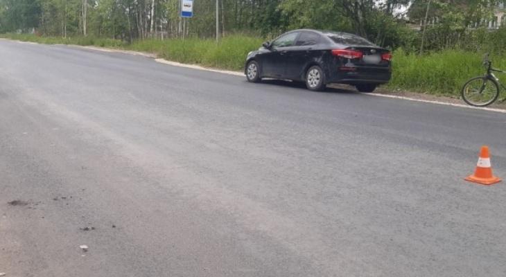 В Коми подросток на велосипеде попал под колеса иномарки