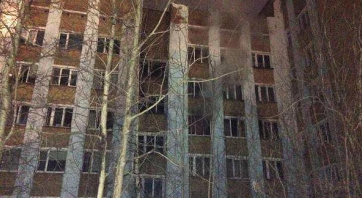В Ухте приостановили уголовное дело по факту пожара на Нефтяников