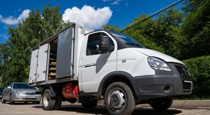 В Ухте презентовали новый транспорт для перевозки хлеба