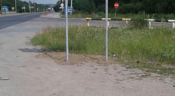 В Ухтинском районе установили новые указатели