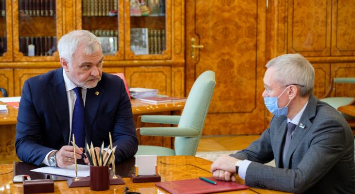 Спикер Госсовета предложил Владимиру Уйба внести поправки в Конституцию РК