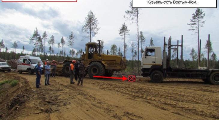 В Коми осудили водителя автогрейдера, по вине которого погиб человек