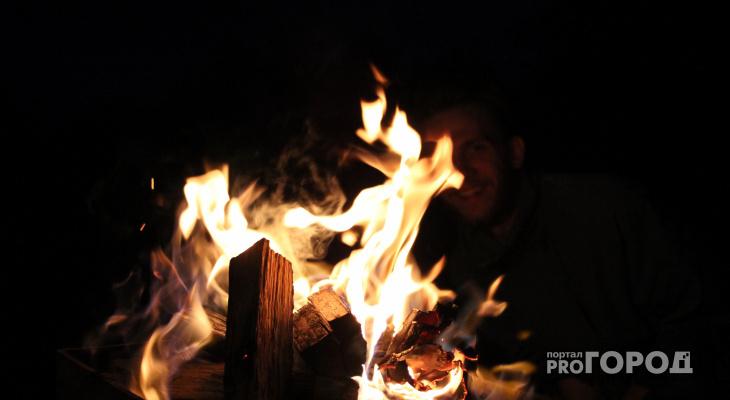 Как разжечь костер зимой в лесу