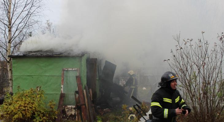 Дача в Ухте сгорела дотла за несколько часов
