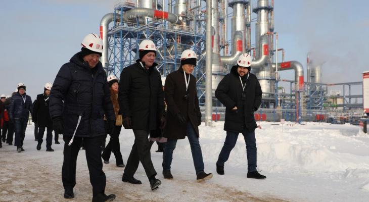 Власти России посетили Ухту и обсудили перспективы добычи высоковязкой нефти