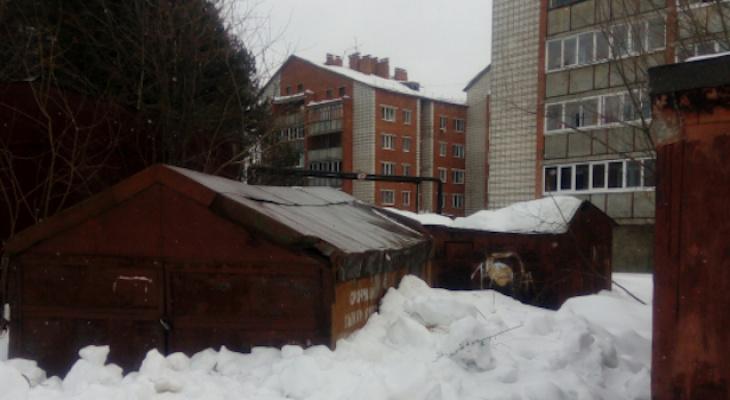 Жители Коми объявили войну владельцам самовольно установленных гаражей