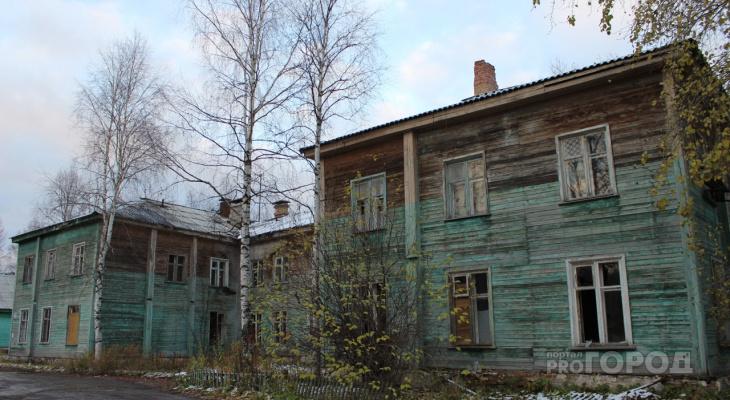 Ухтинцам предложили разобрать на дрова аварийный дом