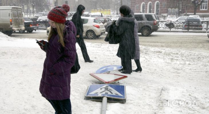 В Коми ворвется южный ветер, который может растопить оставшийся снег и снести крыши домов