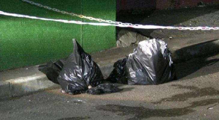 В гаражах Ухты в пакете нашли труп новорожденного ребенка