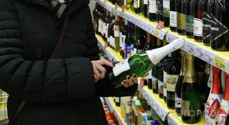 Алкоголь стал самым покупаемым товаром в Коми