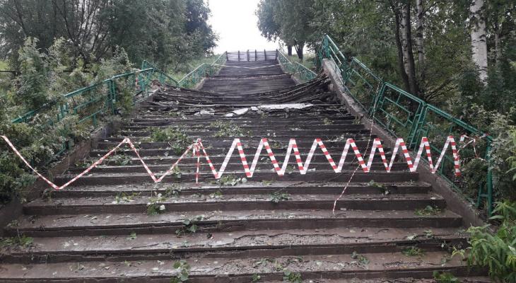 Ухтинцы перестанут ломать ноги на лестницах Ухты, ведь за дело взялась администрация