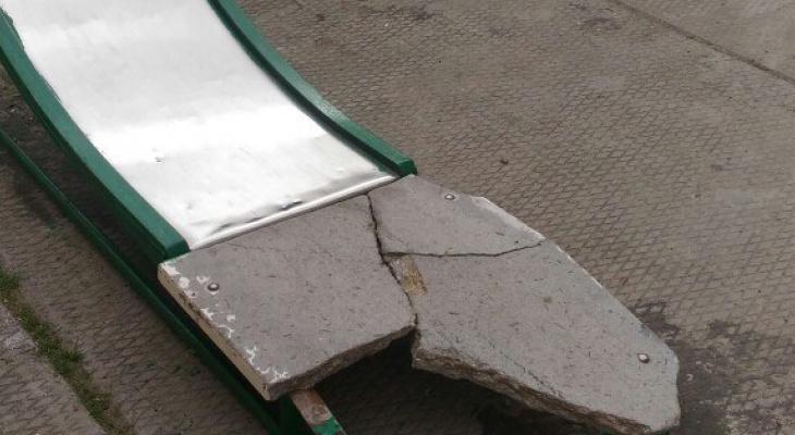 Горка из бетона как g цементного раствора